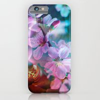 iPhone & iPod Case featuring Double Flowers by Stephen Linhart
