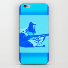 Blue Songbird iPhone & iPod Skin