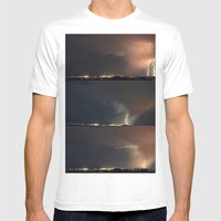 Stormed II Mens Fitted Tee White SMALL