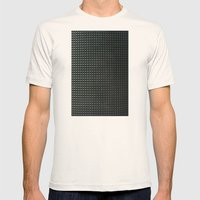 metal pattern Mens Fitted Tee Natural SMALL