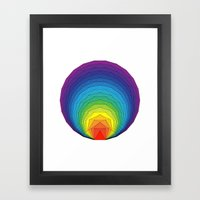 Serious Play - Shapes Framed Art Print