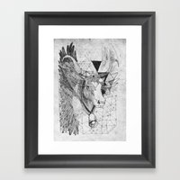 HOLY_COW Framed Art Print