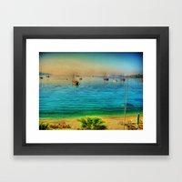 Bodrum Framed Art Print