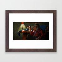 Dr Jacoby Framed Art Print