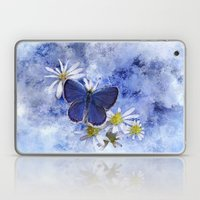 Little Blue Laptop & iPad Skin
