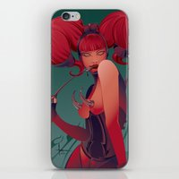 DECADENTLY HORNY iPhone & iPod Skin