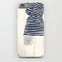 stripes iPhone & iPod Cases featuring Stripes by Elly Liyana