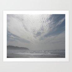 Wondrous Clouds Art Print