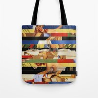 Glitch Pin-Up Redux: Jessica Tote Bag