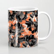 Mount Cook Lily - Orange/Black Mug
