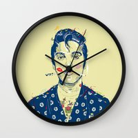 WTF? ELVIS MORNING PARTY Wall Clock