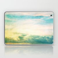 Pastel Abstract Sky  Laptop & iPad Skin