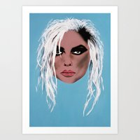 Lady Of The Eighties - P… Art Print