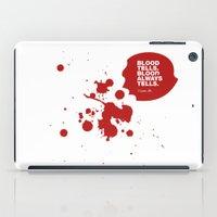 Dexter No.4 iPad Case