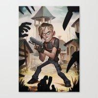 Resident Evil 4 Canvas Print
