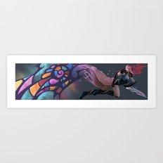 Anime Art Print