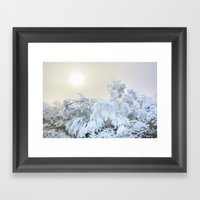 Magic Morning. Sun Throu… Framed Art Print