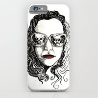 iPhone & iPod Case featuring cretina safada da boca vermelha by Marcelo O. Maffei
