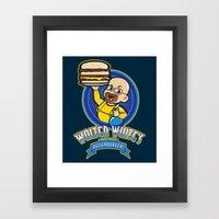 Heisenburgers Framed Art Print
