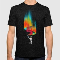 Space Vandal Mens Fitted Tee Tri-Black SMALL