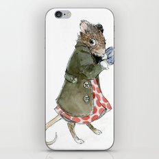Ms. Mouse iPhone & iPod Skin
