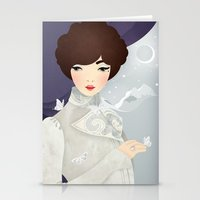 The Wings of the Dove: Violet Stationery Cards
