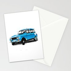Renault 4L Stationery Cards