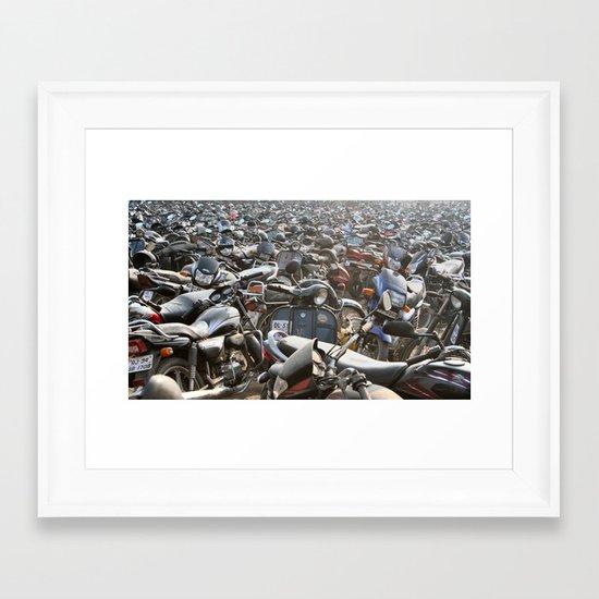Parking Problems ? Framed Art Print
