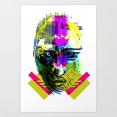 FACE1 Art Print