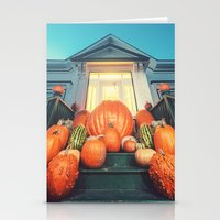 Pumpkin Homestead Stationery Cards