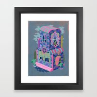 Diamond House Framed Art Print