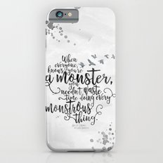 Six of Crows - Monster - White Slim Case iPhone 6s
