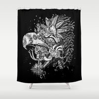 Eagle Warrior Shower Curtain