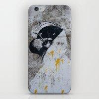 Graffiti Woman iPhone & iPod Skin