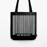 Barcode #1 Inverse Tote Bag