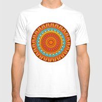 Tessarae Mens Fitted Tee White SMALL