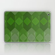 Laptop & iPad Skin featuring Op Art 93 by Harvey Warwick