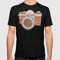 Wood Canon Mens Fitted Tee Tri-Black SMALL