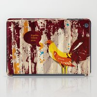 The Rooster Still Bites iPad Case