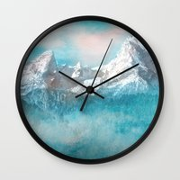 MOUNTAIN SCAPES | Watzmann Wall Clock