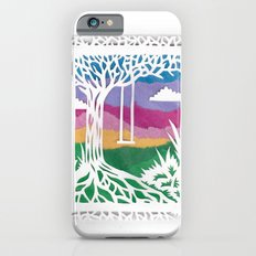Sunset Swing Papercut iPhone 6s Slim Case