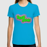 Fresh Jawn Womens Fitted Tee Teal SMALL