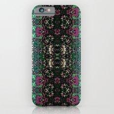 Snowy Rose Brier  iPhone 6 Slim Case