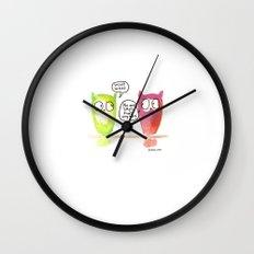 Woot Woot. Wall Clock