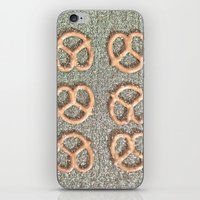 Pretzel Party iPhone & iPod Skin