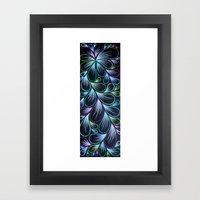 4 Spray Framed Art Print