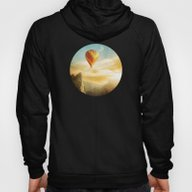 Flying Over The Morning … Hoody