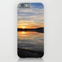 iPhone Cases featuring Minnesota Sunrise by Heartland Photography