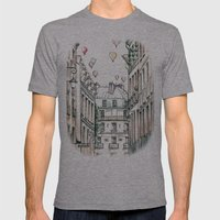 City Love Mens Fitted Tee Athletic Grey SMALL