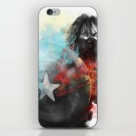 iPhone & iPod Skin featuring Winter Soldier by Alba Palacio